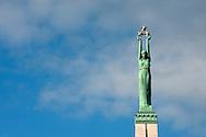 Freedom Monument. Riga, Latvia © Rudolf Abraham