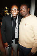 l to r: Kevin Liles and Jimmy Rose at Rev. Al Sharpton's 55th Birthday Celebration and his Salute to Women on Distinction held at The Penthouse of the Soho Grand on October 6, 2009 in New York City