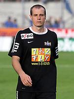 Sion, 16. Juli 2011, Fussball Super League, FC Sion - FC Zuerich, Entteauschung bei Zuerichs Xavier Margairaz nach dem Spiel (Pascal Muller/EQ Images)