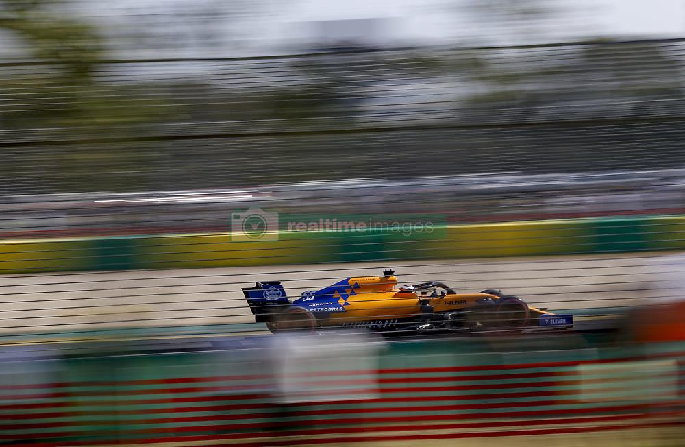 March 16, 2019 - Melbourne, Australia - Motorsports: FIA Formula One World Championship 2019, Grand Prix of Australia, ..#55 Carlos Sainz jr. (ESP, McLaren F1 Team) (Credit Image: © Hoch Zwei via ZUMA Wire)