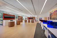 Retail Interior image od AAA Midlothian Virginia Store in Richmond by Jeffrey Sauers of Commercial Photographics, Architectural Photo Artistry in Washington DC, Virginia to Florida and PA to New England