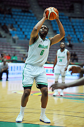 September 15, 2017 - Tunis, Tunisia - Nigerian Ike Diogu won the MVP title of the tournament, compiling 22 points and 8.7 rebounds of average, with 57% of success with the shot of which 45% by far.  (Credit Image: RealTime Images)