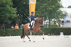 Elias Lara Agusti, ESP, Eddieni<br /> World Championship Young Dressage Horses <br /> Ermelo 2016<br /> © Hippo Foto - Leanjo De Koster<br /> 29/07/16