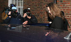 File photo dated 09/01/07 of the Duchess of Cambridge being met by photographers and film crews outside her house in London on her 25th birthday. University student Kate Middleton first caught the attention of 19-year-old Prince William when she strode down the catwalk in a sheer dress for a charity fashion show. Issue date: Wednesday April 28, 2021.
