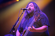 Widespread Panic performing at the Peabody Opera House in St. Louis on their 25th anniversary tour on October 11, 2011.