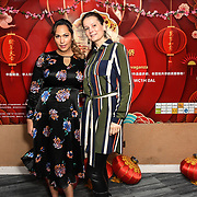 Hunny B is a Rocarding Artist and songwriter and Monika Baroova attends the 7th 2019 Chinese New Year Extravaganza showcasing more than 300 performers including musical Chinese dance , Taiji ,Kungfu,magic face change and much more at Logan Hall. The performance from more than 20 arts groups from China and UK on 2nd Febuary 2019, London, UK.