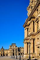 France, Paris (75), musée du Louvre durant le confinement du Covid 19 // France, Paris, Louvre museum during the lockdown of Covid 19