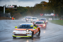 Adam Lewis pictured while competing in the 750 Motor Club's Toyota MR2 Championship. Picture taken at Oulton Park on October 10, 2020 by 750 Motor Club photographer Jonathan Elsey