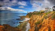 Laguna Beach Cliffs Looking North from Crescent Bay Park
