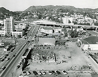 1955 Excavation for Capitol Records Tower