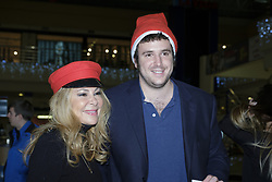 December 20, 2017 - Madrid, Spain - Alex Lequio Jr and Ana Obregon attend the solidarity market in favor of the Fundación Porque Viven in Madrid. Spain. December 20, 2017  (Credit Image: © Oscar Gonzalez/NurPhoto via ZUMA Press)