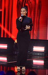 Jorja Smith with the Critics Choice award at the Brit Awards 2018 Nominations event held at ITV Studios on Southbank, London.