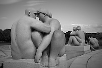 Vigeland Sculpture Park in Oslo, Norway. Semester at Sea, Spring 2013 Enrichment Voyage Day 32. Image taken with a Leica X2 camera (ISO 200, 24 mm, f/8, 1/800 sec)