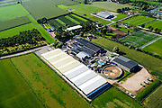 Nederland, Gelderland, Gemeente Neder-Betuwe, 30-09-2015; Heteren, BALTUSSEN Konservenfabriek B.V. in Nederland.<br /> The oldest surviving cannery in Holland.<br /> <br /> luchtfoto (toeslag op standard tarieven);<br /> aerial photo (additional fee required);<br /> copyright foto/photo Siebe Swart