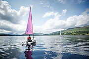 Out on the water of Loch Tay with The University of Edinburgh's Firbush Activity Centre.