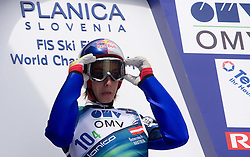 SCHLIERENZAUER Gregor, SV Innsbruck-Bergisel, AUT  competes during Flying Hill Team Trial Round at 4th day of FIS Ski Flying World Championships Planica 2010, on March 21, 2010, Planica, Slovenia.  (Photo by Vid Ponikvar / Sportida)