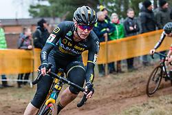 VAN LOY Ellen (BEL) during Women Elite race, 2019 UCI Cyclo-cross World Cup Heusden-Zolder, Belgium, 26 December 2019.  <br /> <br /> Photo by Pim Nijland / PelotonPhotos.com <br /> <br /> All photos usage must carry mandatory copyright credit (Peloton Photos   Pim Nijland)