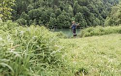 THEMENBILD - ein Fliegenfischer wirft seine Angel aus, aufgenommen am 09. Juni 2019, Kaprun, Österreich // a fly fisherman ejects his fishing rod on 2019/06/09, Kaprun, Austria. EXPA Pictures © 2019, PhotoCredit: EXPA/ Stefanie Oberhauser
