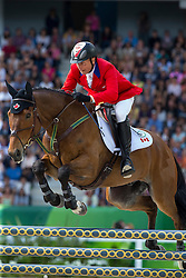 Peter Barry, (CAN), Kilrodan Abbott - Jumping Eventing - Alltech FEI World Equestrian Games™ 2014 - Normandy, France.<br /> © Hippo Foto Team - Leanjo De Koster<br /> 31-08-14