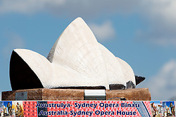 Scultures of world famous places from participants countries at 2010 FIBA World Championships on September 7, 2010 at the Sinan Erdem Dome in Istanbul, Turkey. At picture Australia - Sydney Opera House.(Photo By Vid Ponikvar / Sportida.com)