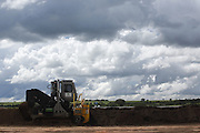 Uberlandia_MG, Brasil.<br /> <br /> Fabrica que desenvolveu um fertilizante que usa residuos de outras industrias em Uberlandia, Minas Gerais.<br /> <br /> The factory developed a fertilizer that uses waste from other industries in Uberlandia, Minas Gerais.<br /> <br /> Foto: LEO DRUMOND / NITRO