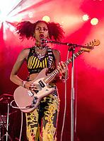 Nova Twins at the Reading Festival 2021 photo by Mark anton Smith