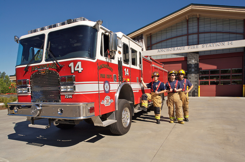 Anchorage Fire Station 14, Alaska