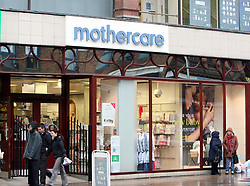 File photo dated 07/02/13 of a Mothercare store, as the retailer notched up further UK sales growth thanks to turnaround efforts, while the weak pound offset flagging overseas trade.