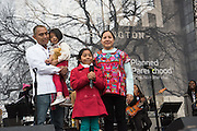 SOPHIE CRUZ AND FAMILY,    , Womens's March on  Washington DC. 21 January 2017