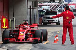 May 16, 2018 - Barcelona, Spain - Antonio Giovinazzzi, team Ferrari, during the Formula 1 testing at the Barcelona Catalunya Circuit, on 16th May 2018 in Barcelona, Spain.  Photo: Joan Valls/Urbanandsport /NurPhoto. (Credit Image: © Joan Valls/NurPhoto via ZUMA Press)
