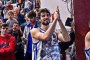 Michele Vitali<br /> Banco di Sardegna Dinamo Sassari - Pompea Fortitudo Bologna<br /> LBA Serie A Postemobile 2018-2019<br /> Sassari, 15/12/2019<br /> Foto L.Canu / Ciamillo-Castoria