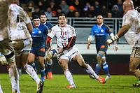 Florian FRITZ - 31.01.2015 - Castres / Stade Toulousain - 17eme journee de Top 14 -<br />Photo : Laurent Frezouls / Icon Sport