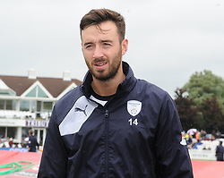 Hampshire's James Vince at the toss.  - Mandatory by-line: Alex Davidson/JMP - 19/06/2016 - CRICKET - Cooper Associates County Ground - Taunton, United Kingdom - Somerset v Hampshire - NatWest T20 Blast
