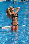 Exclusive - Charlie Doherty Bikini in Magaluf