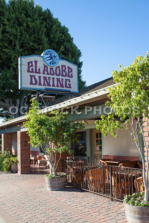 El Adobe De Capistrano Mexican Restaurant San Juan Capistrano California