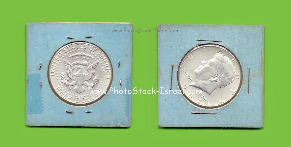Silver Kennedy Half Dollar 1964 collector's item