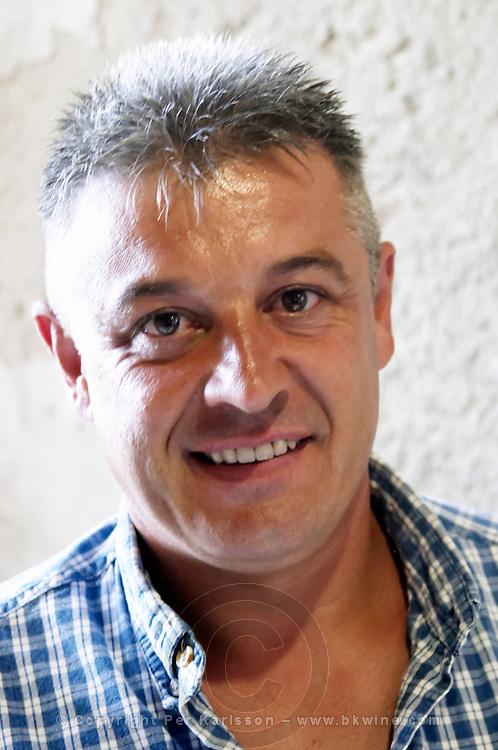 Lionel Comelade Domaine Comelade, Estagel. Roussillon. Owner winemaker. France. Europe.