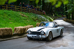 Boness Revival hillclimb motorsport event in Boness, Scotland, UK. The 2019 Bo'ness Revival Classic and Hillclimb, Scotland's first purpose-built motorsport venue, it marked 60 years since double Formula 1 World Champion Jim Clark competed here.  It took place Saturday 31 August and Sunday 1 September 2019. 119. Alistair Muir. Triumph TR4