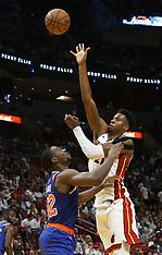Knicks v Heat - 24 Oct 2018