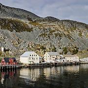 Three weeks aboard the Kong Harald. Hurtigruten, the Coastal Express. Kjollefjord.