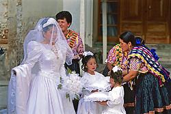 Bride At Quezeltenango Church