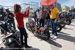 The Boardwalk Classic Bike Show during Daytona Beach Bike Week. Daytona Beach, FL, USA. March 13, 2015.  Photography ©2015 Michael Lichter.