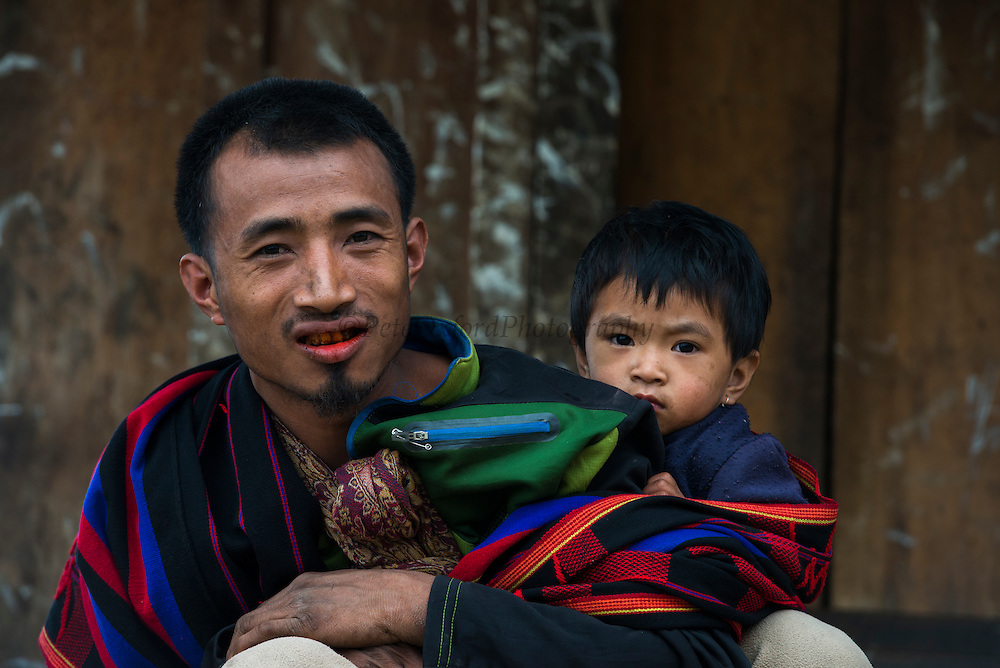 Konyak Naga man<br /> Konyak Naga headhunting Tribe<br /> Mon district<br /> Nagaland,  ne India