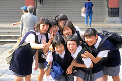 Girls At Senso-ji Temple