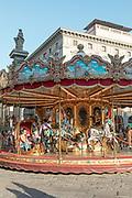 FLORENCE: merry go round in Piazza della Repubblica