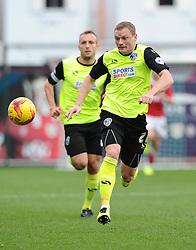 Oldham Athletic's Brian Wilson  - Photo mandatory by-line: Joe Meredith/JMP - Mobile: 07966 386802 - 01/11/2014 - SPORT - Football - Bristol - Ashton Gate - Bristol City v Oldham Athletic - Sky Bet League One