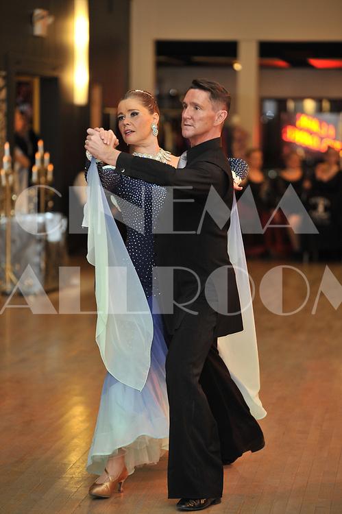 Eric Hudson and Annabel Bavaud