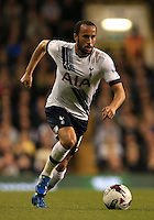 Tottenham's Andros Townsend during the Capital One Cup, third round match at White Hart Lane, London.