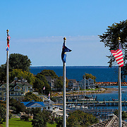 """Flags Over Mackinac""<br />