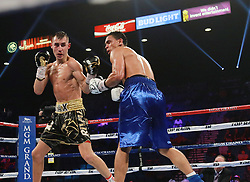 June 10, 2018 - Las Vegas, Nevada, United States of America - Boxer Maxim ''Mad Dog'' Dadashev defeats Darleys Perez  in a 10 round junior welterweight bout on June 9, 2018  at the MGM Grand Arena  in Las Vegas, Nevada (Credit Image: © Marcel Thomas via ZUMA Wire)
